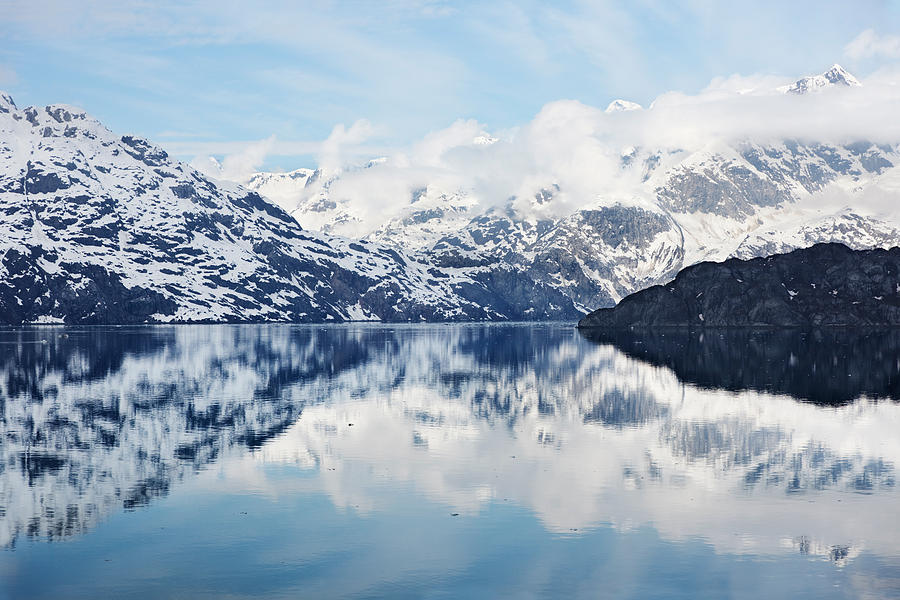 Scenic Photograph - Glacier Bay by Jo Ann Snover