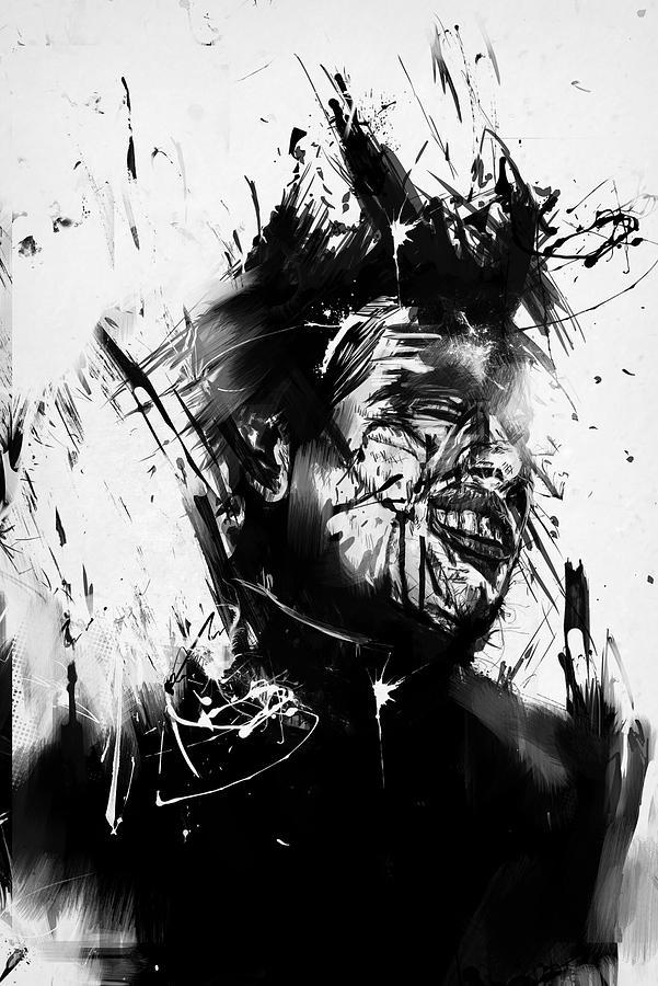 Surreal Mixed Media - Glasswall by Balazs Solti