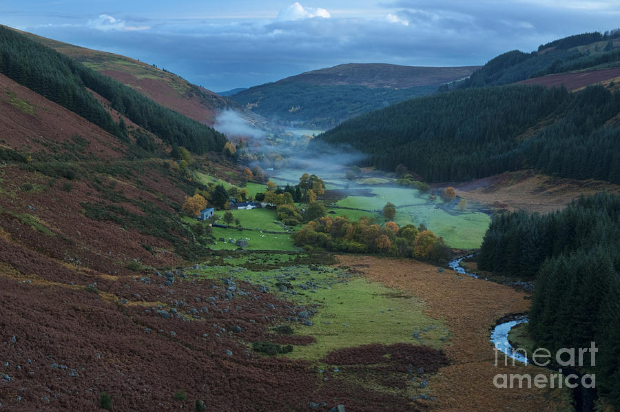 Wicklow Photograph - Glenmacnass 2 by Michael David Murphy