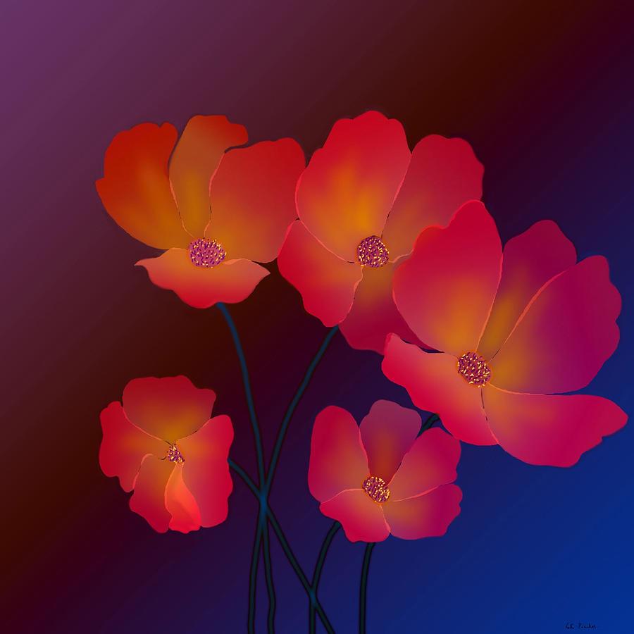 Glorious Greeting Cards Digital Art - Glorious by Latha Gokuldas Panicker