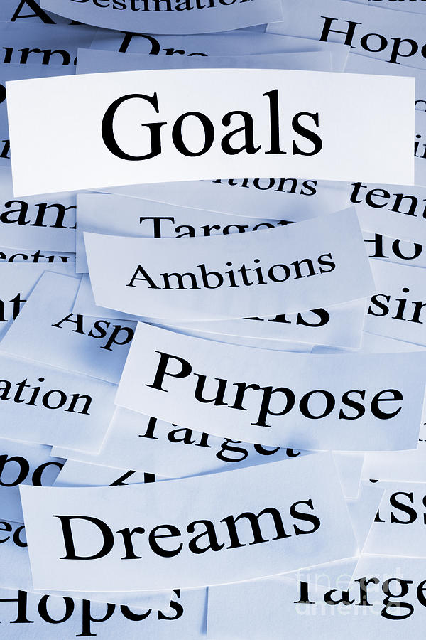 Ambition Photograph - Goals Concept by Colin and Linda McKie