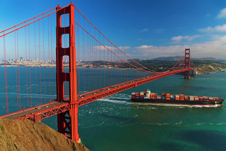 Golden Gate Bridge San Francisco, Ca Photograph by David H. Carriere