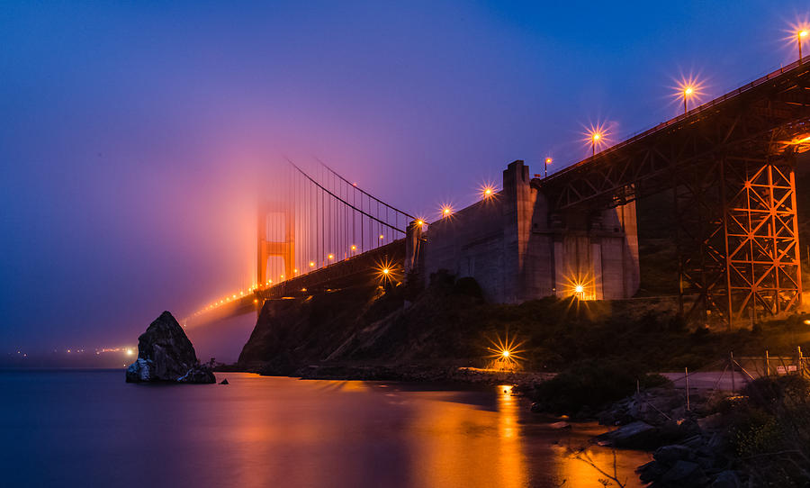Golden Gate Photograph - Golden Gate by Mike Ronnebeck