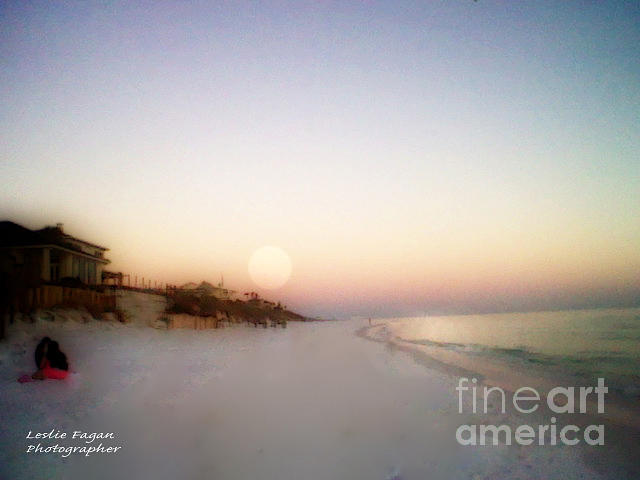 Beach Photograph - Good Morning Sun by Jeffery Fagan
