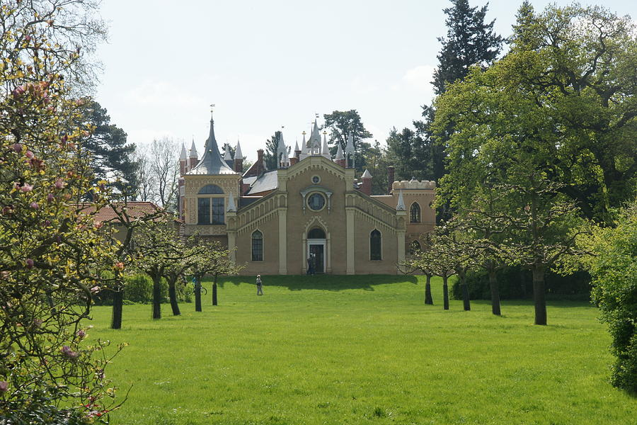 Gothic House Photograph - Gothic House by Olaf Christian