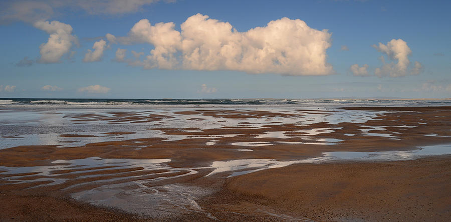 Seascape Photograph - Gowlane Beach by Barbara Walsh
