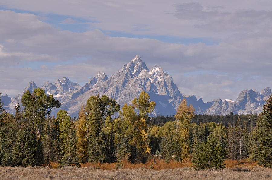 Mountain Photograph - Grand Teton by Frank Madia