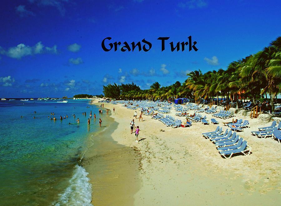 Beach Photograph - Grand Turk by Gary Wonning