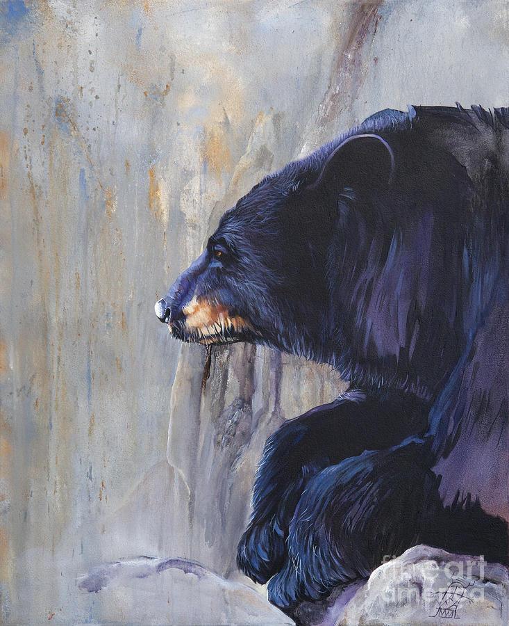 Grandfather Bear by J W Baker