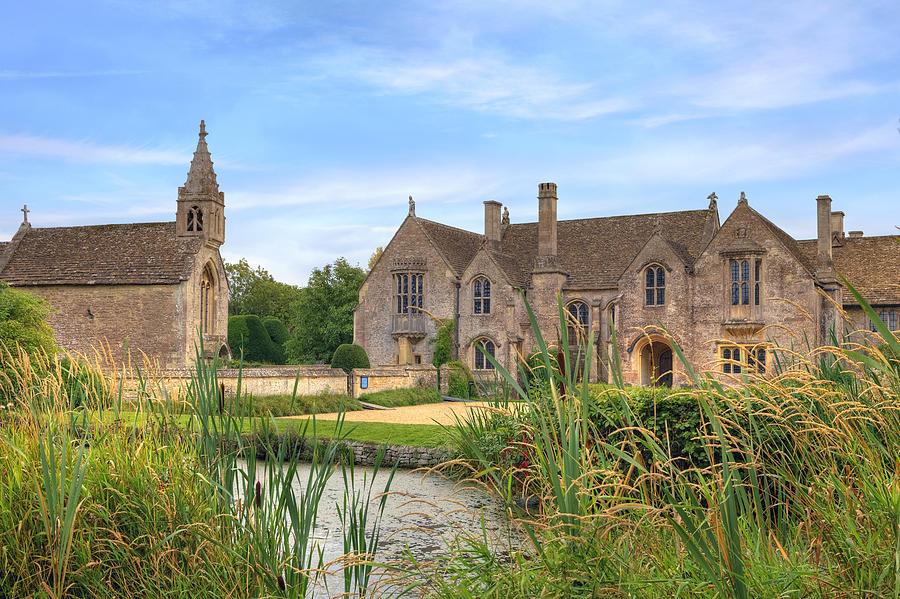 Great Chalfield Manor Photograph - Great Chalfield Manor by Joana Kruse