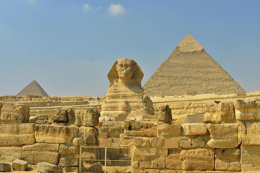 Great Sphinx Of Giza Photograph by Raimund Linke