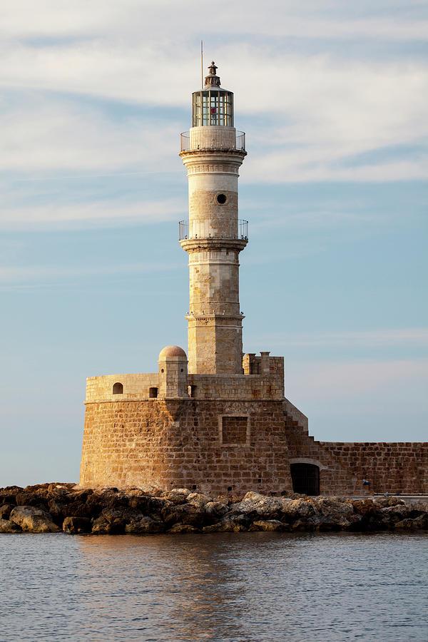Brick Photograph - Greece, Crete, Chania 1 by Hollice Looney