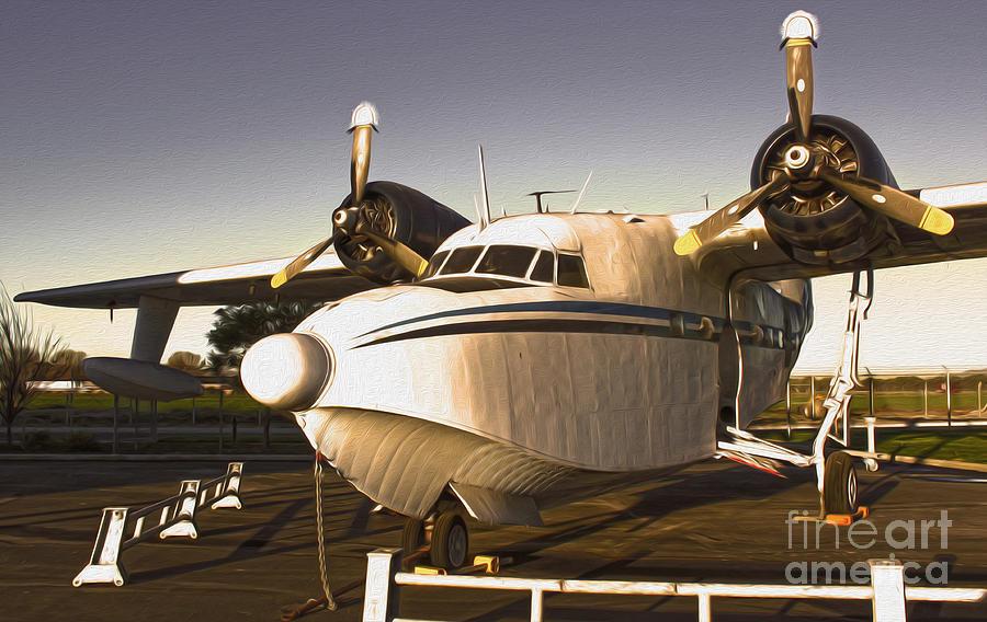 Grumman G-64 Albatross Uh16 Photograph - Grumman G-64 Albatross Uh16 by Gregory Dyer