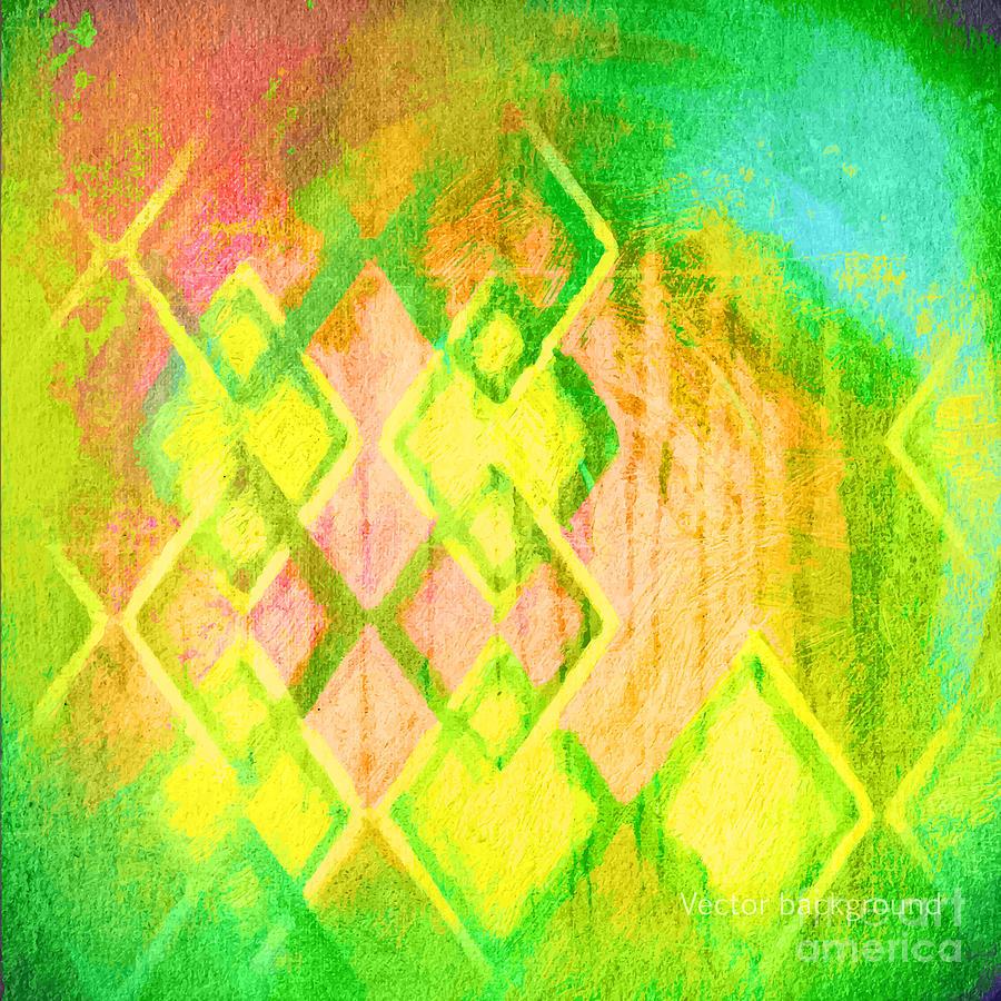 Blank Digital Art - Grunge Retro Vintage Paper Texture by Leksustuss