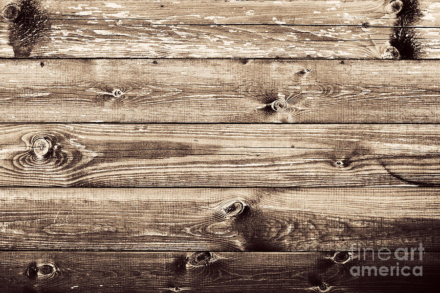 Grunge Rustic Wood Wall Background Photograph By Michal Bednarek