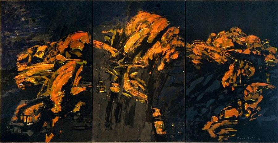 Gustav Mahler Painting - Gustav Mahler - Adagietto from Symphony no. 5   by Vladimir Vlahovic