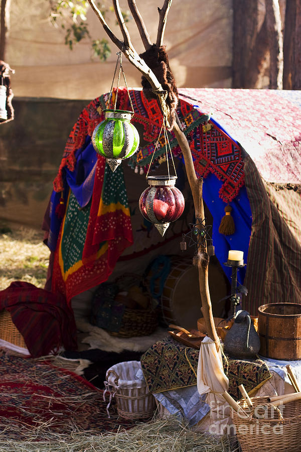 Gypsy Tent & Gypsy Tent Photograph by Jorgo Photography - Wall Art Gallery