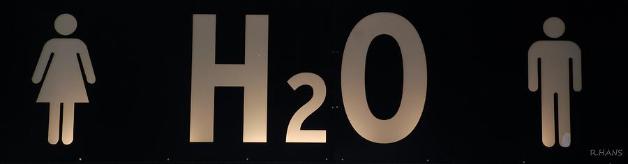 Abstract Photograph - H2O by Rob Hans