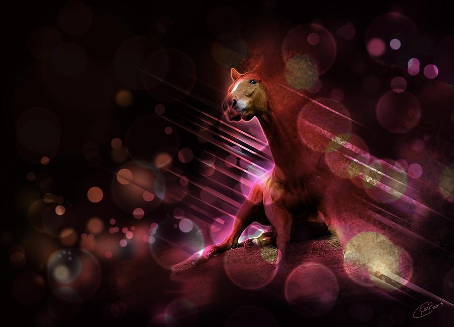 Digital Digital Art - Hallucination by Kate Black