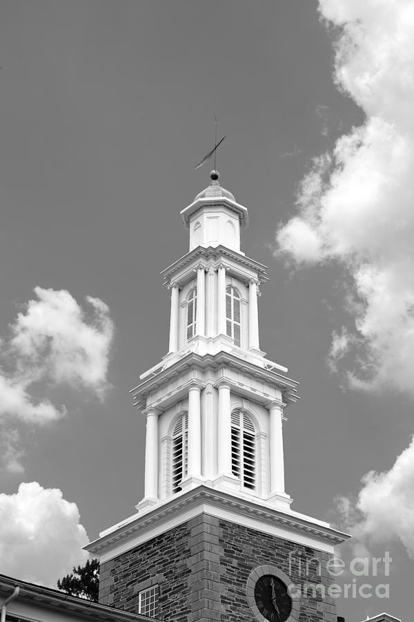 Clinton Photograph - Hamilton College Chapel by University Icons