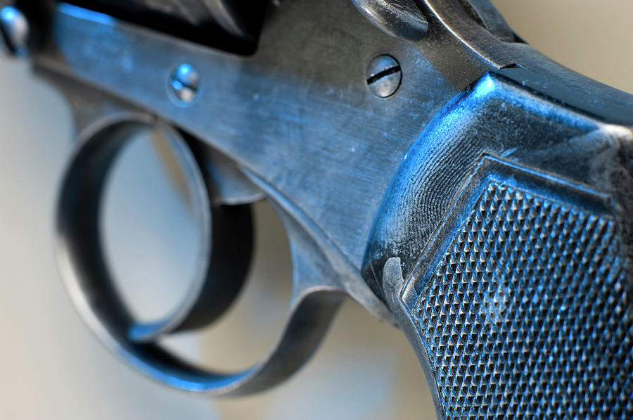 Weapon Photograph - Handgun Trigger by Jim Varney/science Photo Library