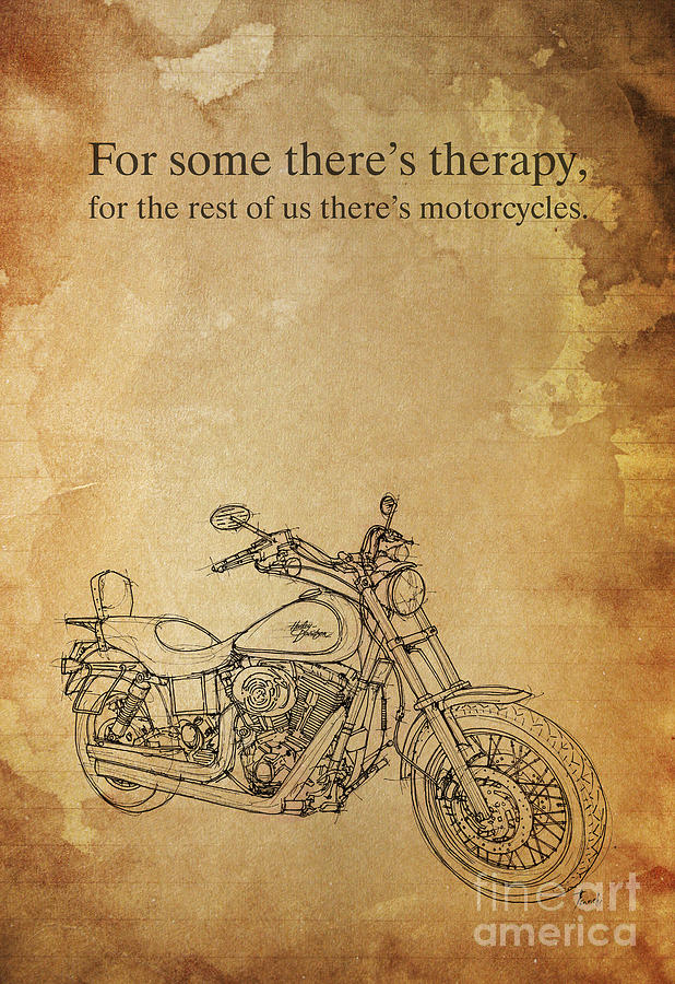 Harley Davidson Quotes Endearing Harley Davidson Quote Paintingpablo Franchi
