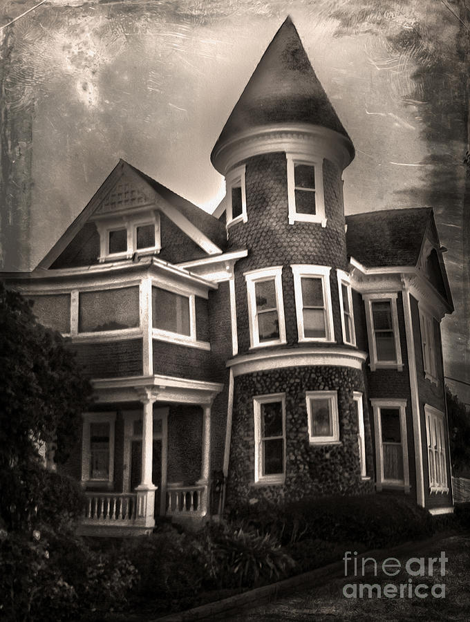 Victorian Photograph - Haunted House by Gregory Dyer