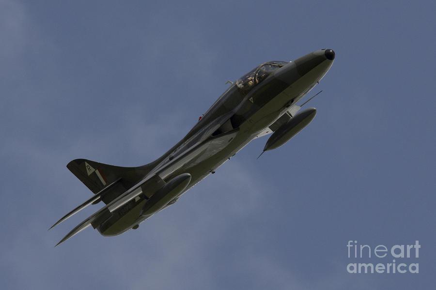 Hawker Hunter Pyrography - Hawker Hunter by J Biggadike