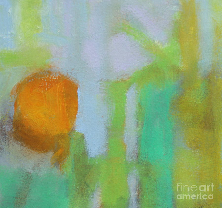 Square Painting - Haze II by Virginia Dauth