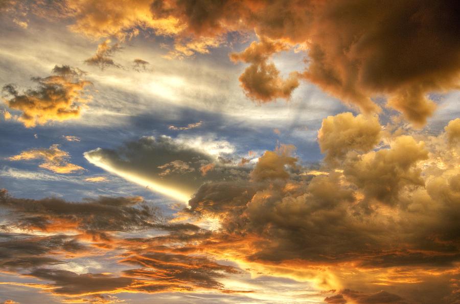 Skyscape Photograph - Heavenly Skies  by Saija  Lehtonen