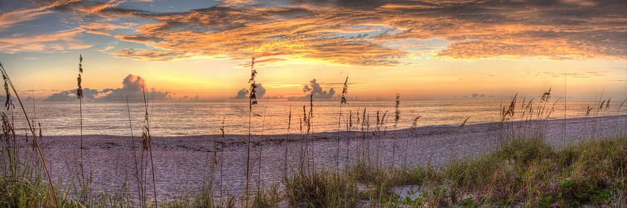 Heavenly Sunset  by Gerald Adams