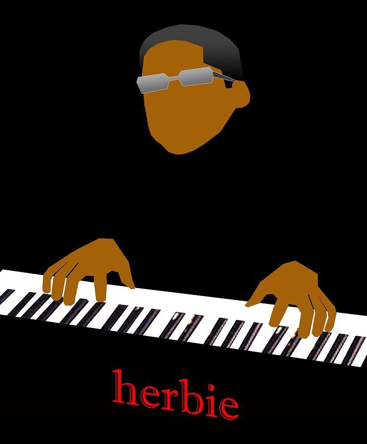 Jazz Digital Art - Herbie Hancock by Victor Bailey