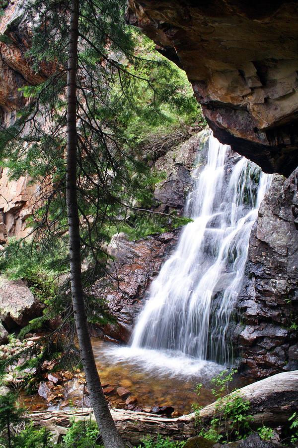 Waterfall Photograph - Hidden Falls by Darryl Wilkinson