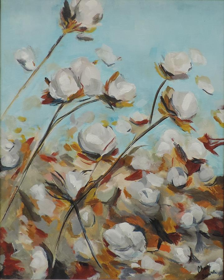 High Cotton Painting by Cherry Brewer