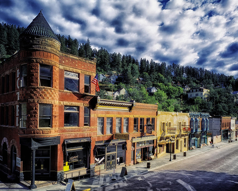 Deadwood Photograph - Historic Deadwood by Mountain Dreams