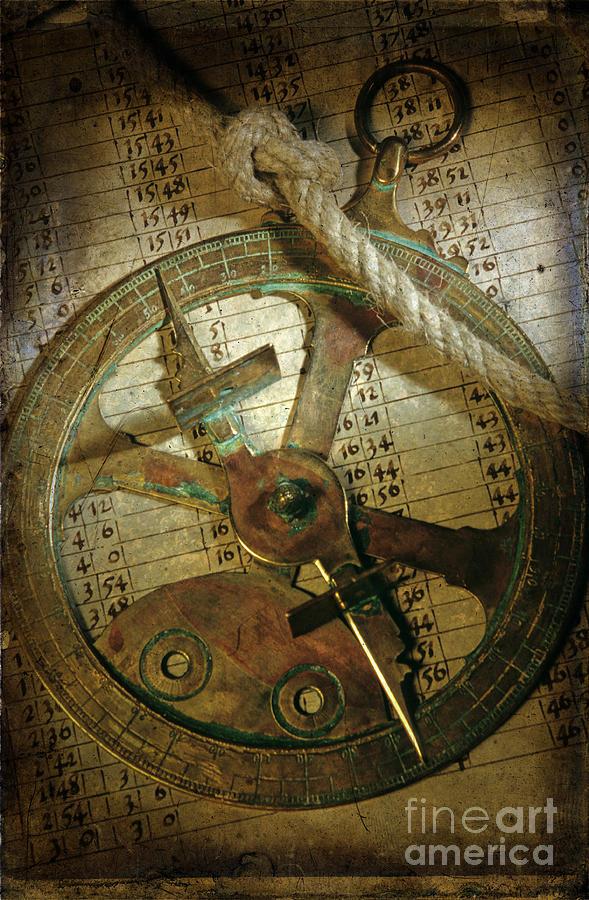 Navigator Photograph - Historical Navigation by Bernard Jaubert