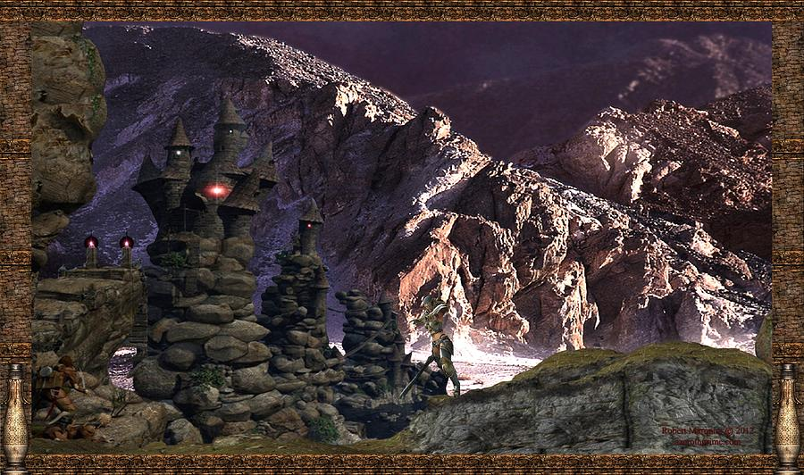 Fantasy Digital Art - Hobit by Robert Marquiss