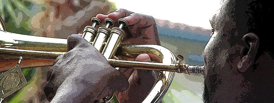 Horn Player 0072 Photograph