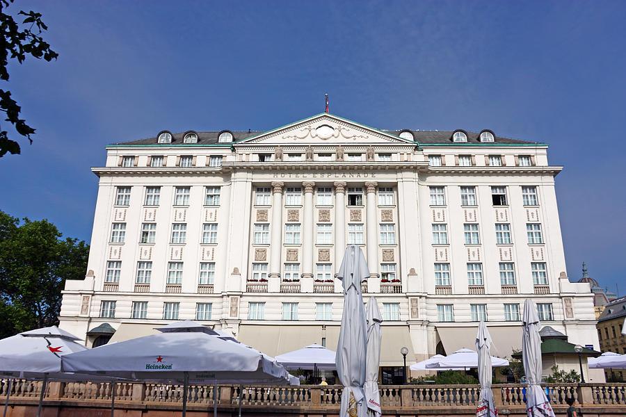 Croatia Photograph - Hotel Esplanade Zagreb by Borislav Marinic