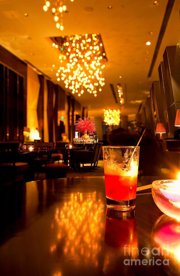 Hotel Photograph - Hotel Lounge by Fototrav Print