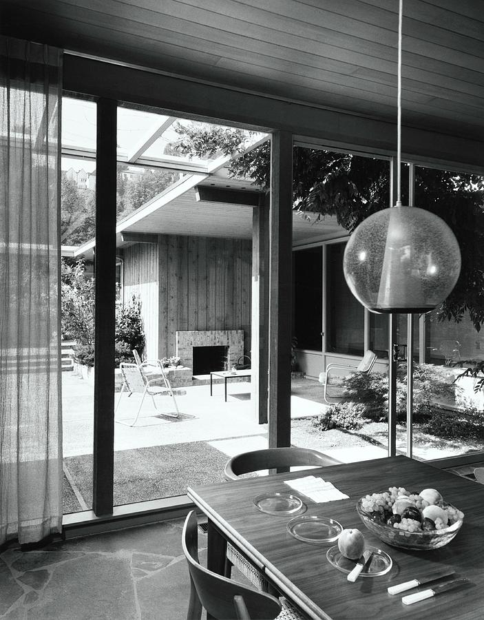 House Designed By Roland Terry And Philip Moore Photograph by Dearborn-Massar