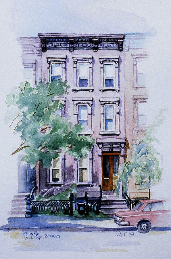 House on Tenth Street by Nancy Wait