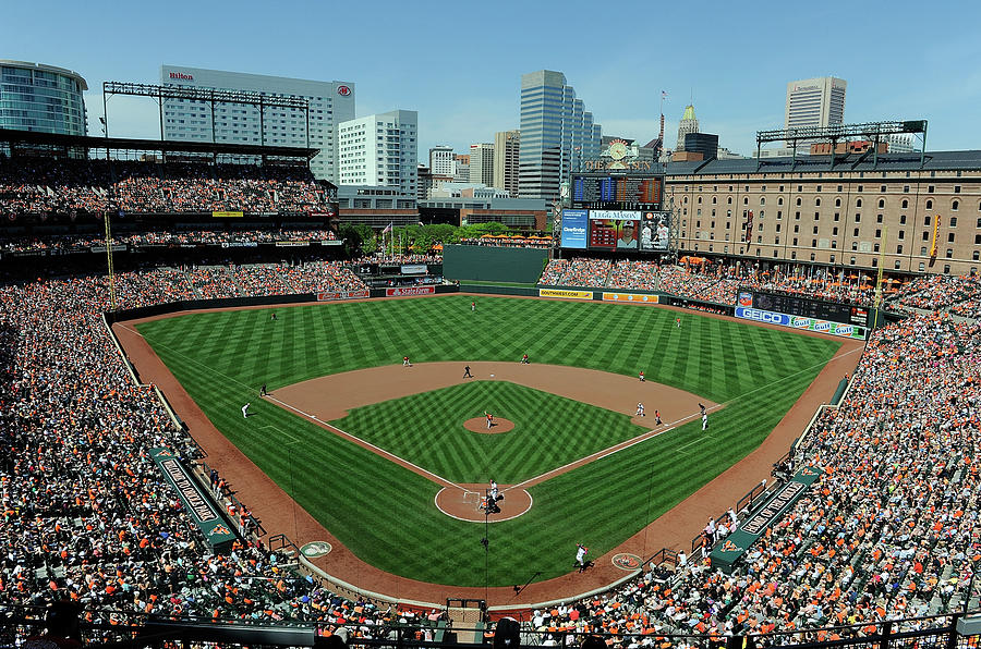 Houston Astros V Baltimore Orioles 1 Photograph by Greg Fiume