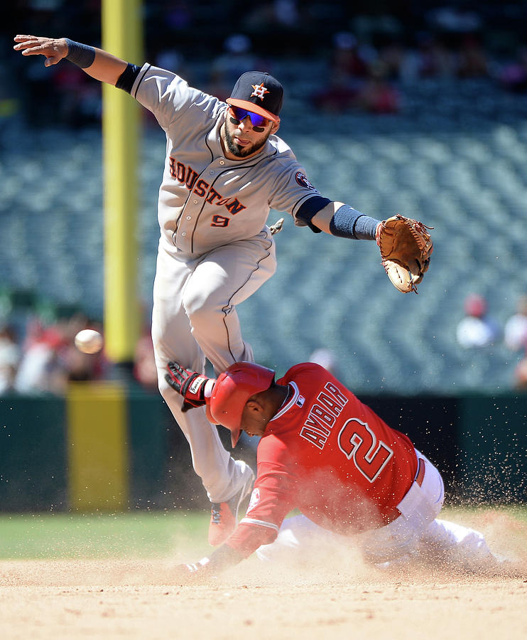 Houston Astros V Los Angeles Angels Of Photograph by Harry How