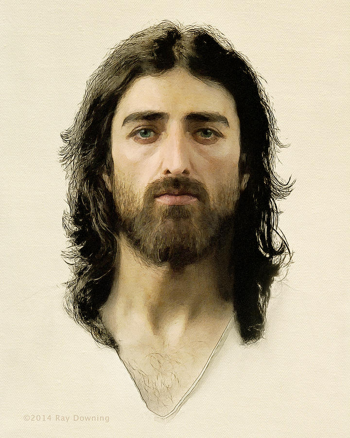 Jesus Digital Art - I Am the Way by Ray Downing