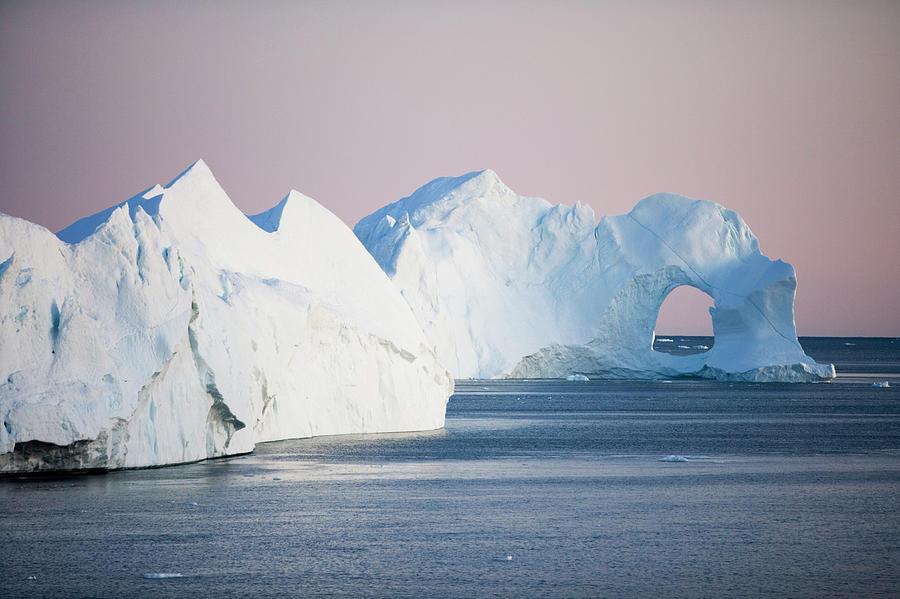 Iceberg From Ilulissat Kangerlua Photograph by Holger Leue