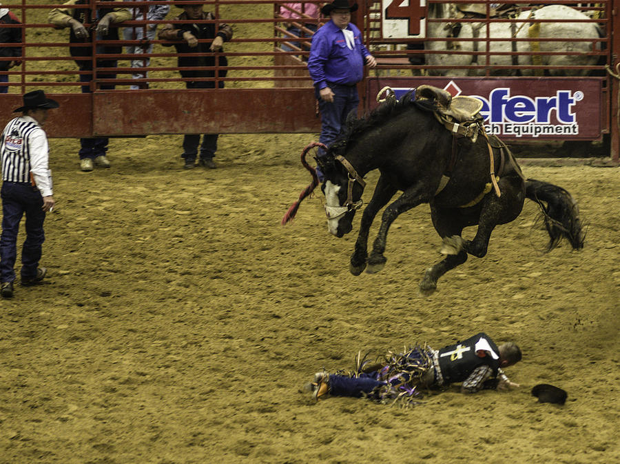 Prca Rodeo Photograph - Im Flying by Jason Smith