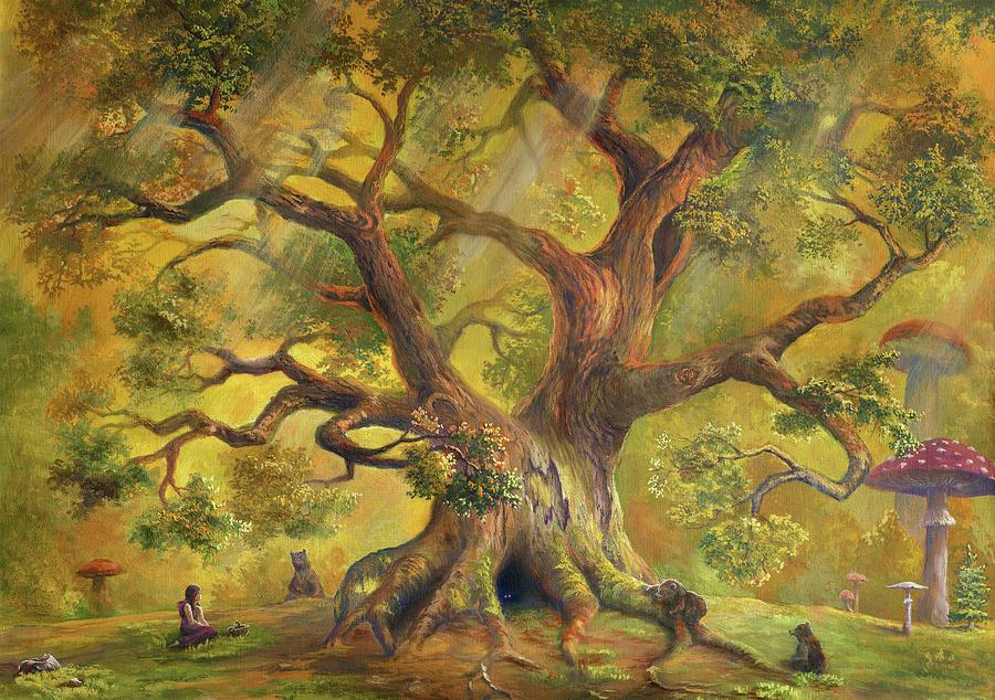 In Fairy Forest Digital Art by Pobytov