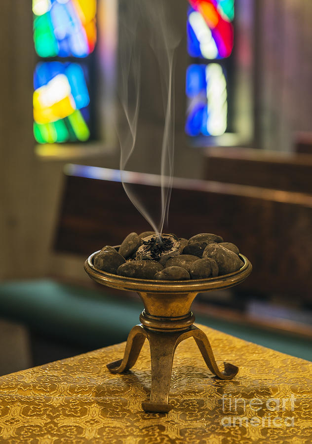 Meditation Photograph - Incense by John Greim