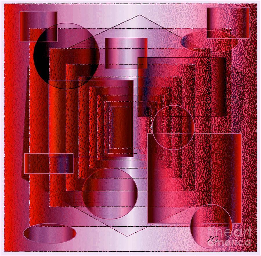 Digital Digital Art - Infinity by Iris Gelbart
